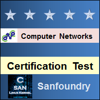 Computer Networks Certification Test