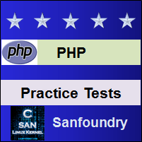 PHP Programming Practice Tests