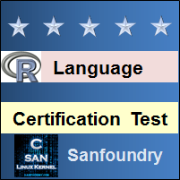 R Programming Certification Test