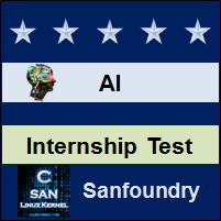 Artificial Intelligence Internship Test