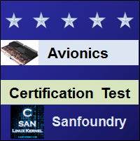 Avionics Certification Test