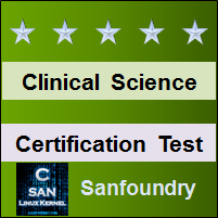 Clinical Science Certification Test