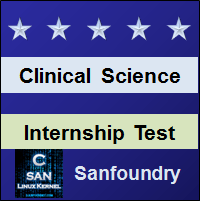 Clinical Science Internship Test