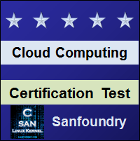 Cloud Computing Certification Test