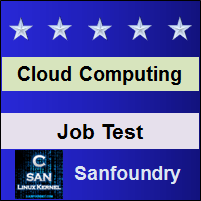 Cloud Computing Job Test