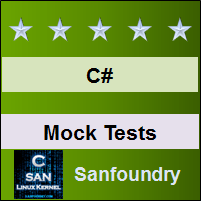 C# Programming Mock Tests