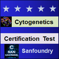 Cytogenetics Certification Test
