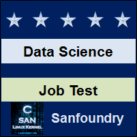 Data Science Job Test
