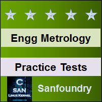 Engineering Metrology Practice Tests