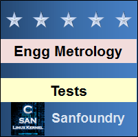 Engineering MetrologyTests