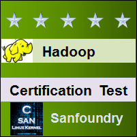 Hadoop Certification Test