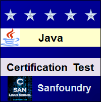 Java Programming Certification Test