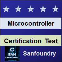 Microcontroller Certification Test