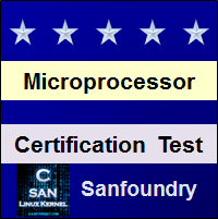 Microprocessor Certification Test