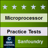 Microprocessor Practice Tests
