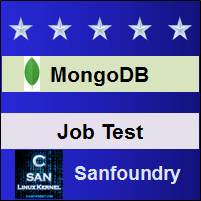 MongoDB Job Test