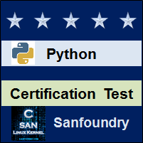 Python Programming Certification Test