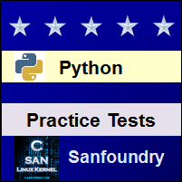 Python Programming Practice Tests