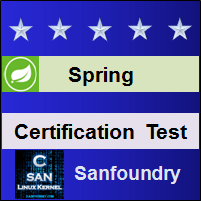 Spring Certification Test
