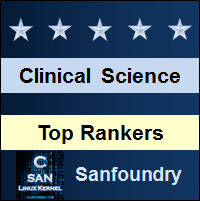 Top Rankers - Clinical Science