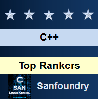 Top Rankers - C++ Programming