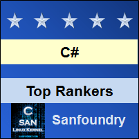 Top Rankers - C# Programming