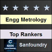 Top Rankers - Engineering Metrology