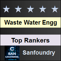 Top Rankers - Waste Water Engineering