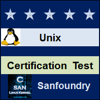 Unix Certification Test