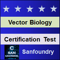 Vector Biology and Gene Manipulation Certification Test
