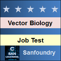 Vector Biology and Gene Manipulation Job Test