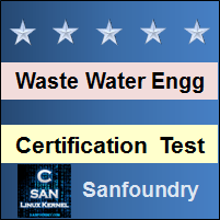 Waste Water Engineering Certification Test