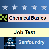 Basic Chemical Engineering Job Test