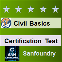 Basic Civil Engineering Certification Test