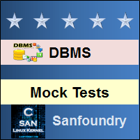 Database Management System Mock Tests