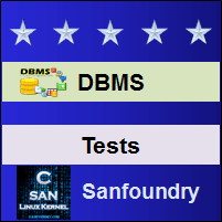 Database Management SystemTests