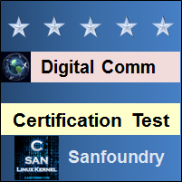 Digital Communications Certification Test