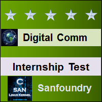Digital Communications Internship Test