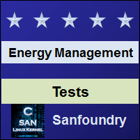 Energy & Environment Management Tests