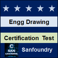 Engineering Drawing Certification Test