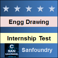 Engineering Drawing Internship Test