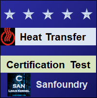 Heat Transfer Certification Test