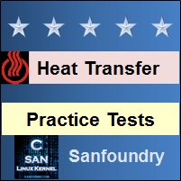 Heat Transfer Practice Tests