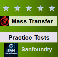 Mass Transfer Practice Tests