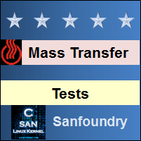 Mass Transfer Tests