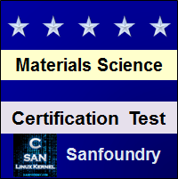 Materials Science Certification Test