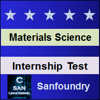 Materials Science Internship Test
