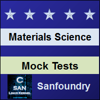 Materials Science Mock Tests