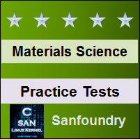 Materials Science Practice Tests