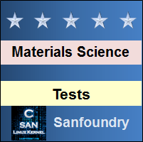 Materials ScienceTests